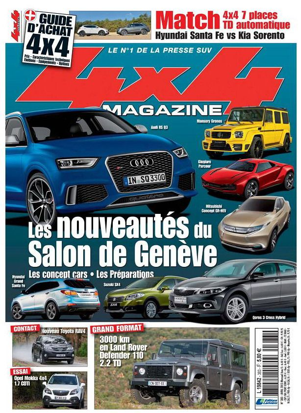  4x4 Magazine N383 Avril 2013