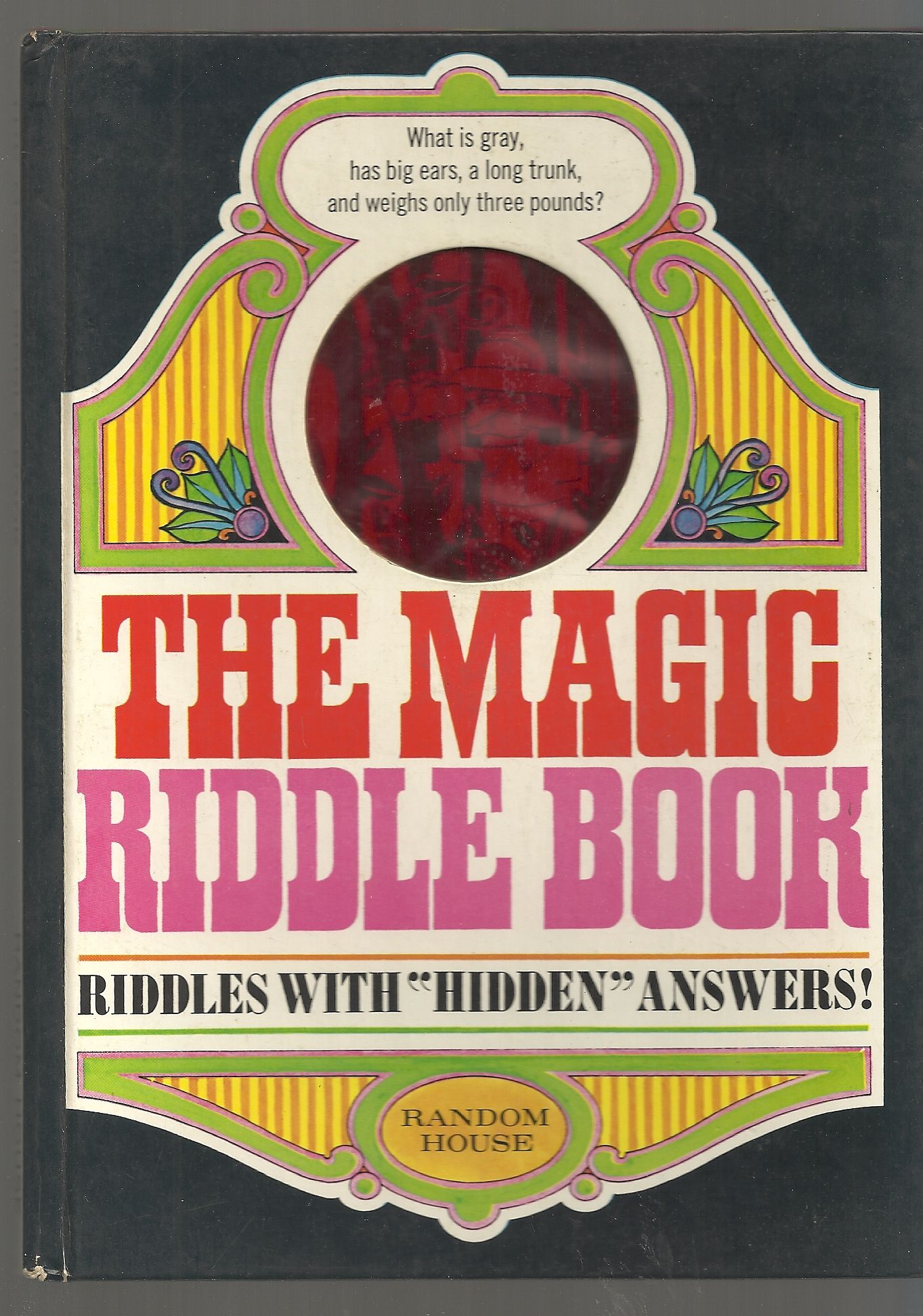The Magic Riddle Book: Riddles with Hidden Answers!