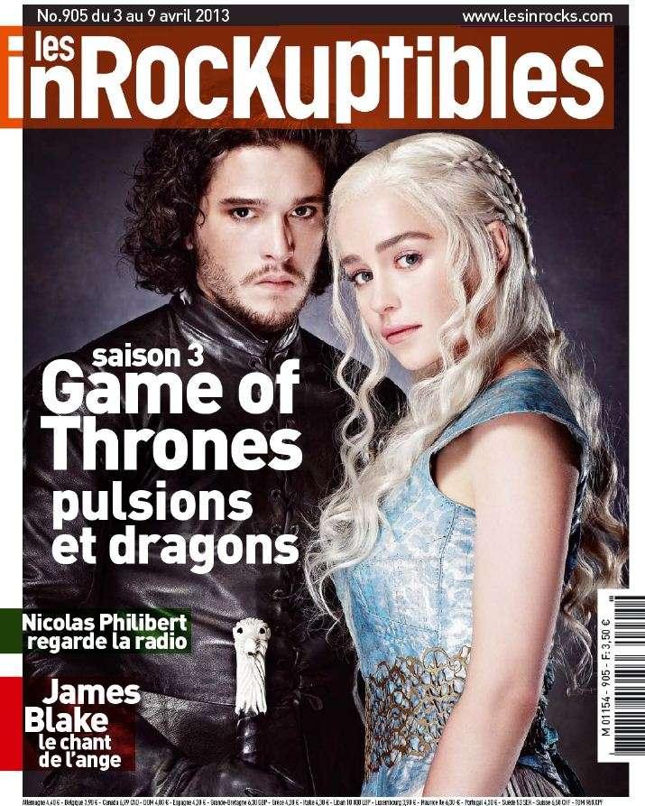 Les Inrockuptibles N°905 du 03 au 09 Avril 2013