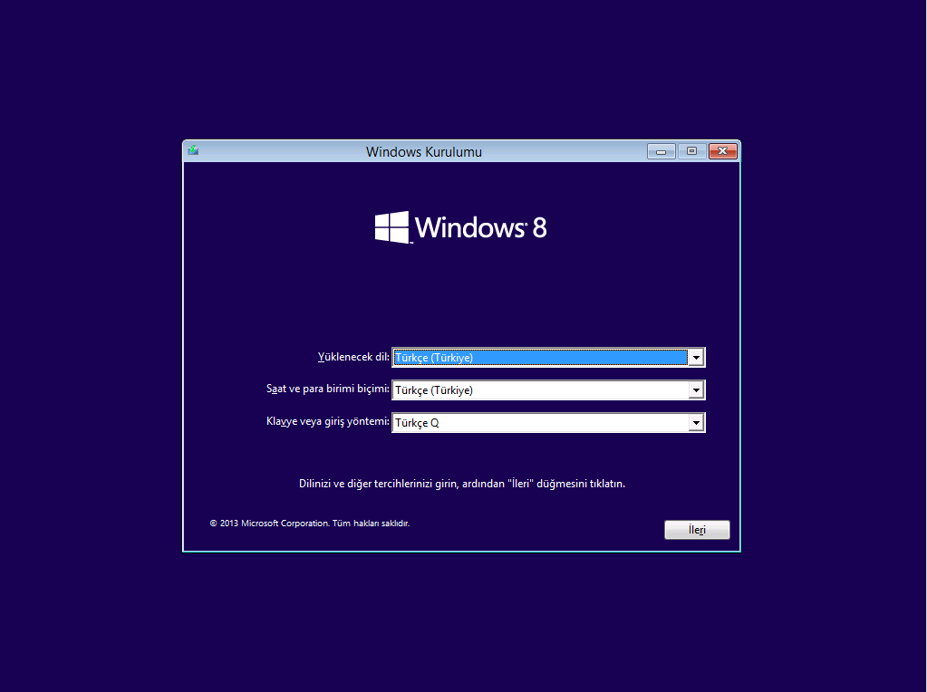 Windows 8.1 Final MSDN Turkce (32bit-64bit)