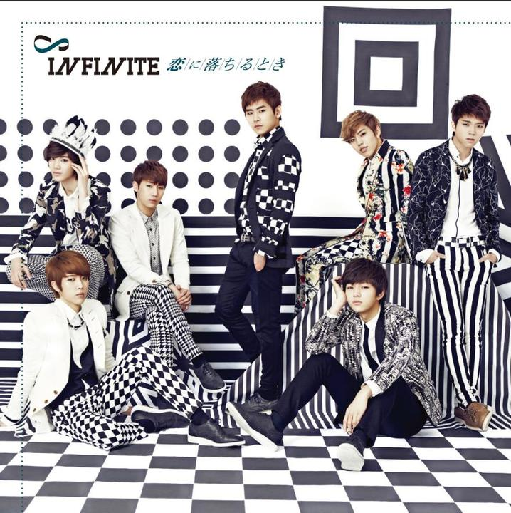 Download Infinite  Koi ni Ochiru Toki [1st Japanese Album]