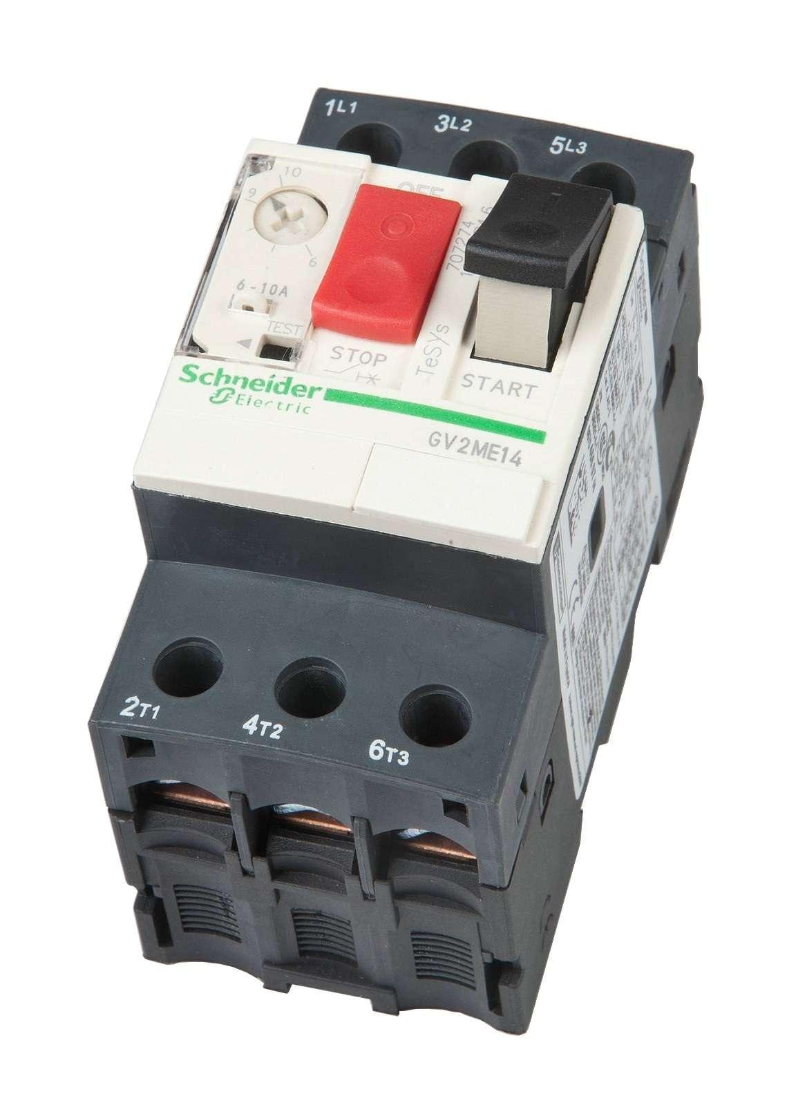 disjoncteur 6 10a schneider telemecanique gv2me protection pompe eau ebay. Black Bedroom Furniture Sets. Home Design Ideas