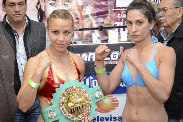 Zulina Muñoz vs Marisa Johanna Portillo en Vivo